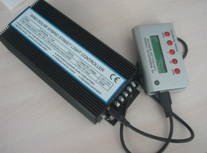 太阳能风光互补灯光控制器